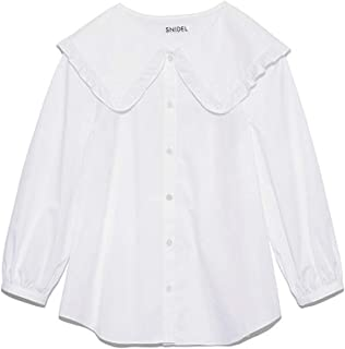 snidel 大领衬衫 SWFB211192 女士 WHT F