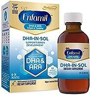 Enfamil 美赞臣 DHA-in-sol 婴幼儿 支持大脑*,素食,专家推荐的 DHA 和 ARA,易用的滴液,2 液体盎司(约 50.9 毫升)