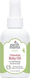 Earth Mama Angel Baby 大地母亲 天使宝宝有机婴儿油 4fl oz