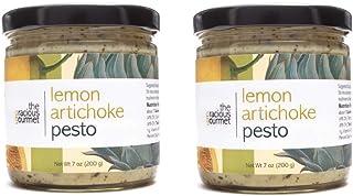 The Gracious Gourmet Lemon Artichoke Pesto, 14 Ounce