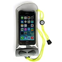 AQUAPAC 英国进口手机防水袋 大屏智能手机游泳 潜水 漂流 温泉防水袋 IPX8 108 透明色