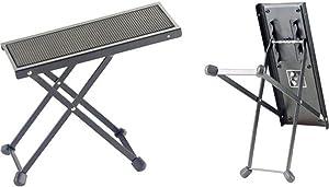 Stagg FOS-B1 BK 金属吉他脚凳 - 黑色