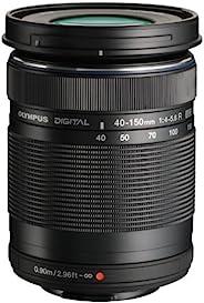 Olympus 奥林巴斯 M.Zuiko Digital ED 40-150mm F4.0-5.6 R 变焦镜头,用于微型四分之三相机(黑色)