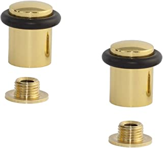 EVI herrajes i-108-cb 门档,2个单位,抛光白色黄铜(黄铜)
