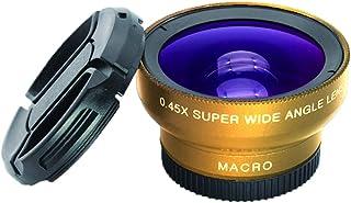 0.45 倍广角镜头 + 12.5 倍微距手机镜头高清广角图片,照片显微图适合大多数智能手机
