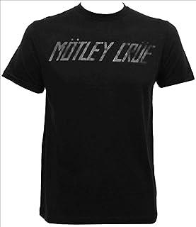 全球 merchandising 男式 motley crue 标志短袖 t 恤