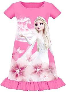 MINYO 幼童女童睡衣公主睡衣睡衣短袖