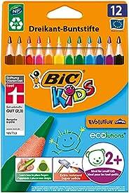 BIC 比克兒童彩色鉛筆 Ecolutions Evolution系列 三角型 1 x 12 Stück
