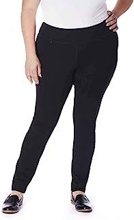 Jag Jeans 女士加大码 Ricki 双面针织马靴打底裤