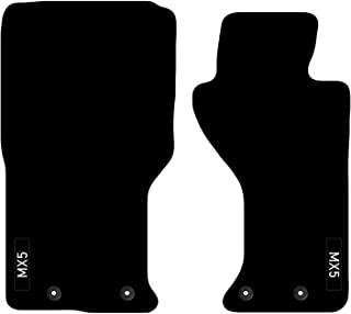 Carsio 定制地垫适用于马自达 MX5 2015+ Onwards,带有标志地毯汽车地板