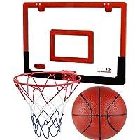 TeganPlay 门上篮球框迷你篮球框适合儿童青少年成人室内和室外玩耍