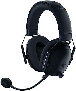 Razer 雷蛇 BlackShark V2 Pro 无线游戏耳机:THX 7.1 空间环绕声 - 50 毫米驱动器 - 可拆卸麦克风 - 适用于 PC、PS4、PS5、Switch、Xbox One、Xbox Series X 和 S - 3...