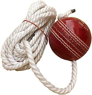 AnNafi 挂球练习和敲打 - 悬挂季节球带绳子 I 球,带有线板球挂球,印度制造