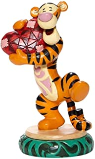 Jim Shore Disney Traditions 6008073 手持心形小雕像 5.5 英寸(约 14 厘米)高