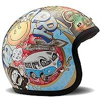 DMD 1JTS3000WS05 摩托車頭盔,多種顏色,XL
