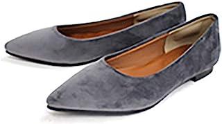 AmiAmi 尖头 平底 浅口鞋
