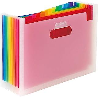 SEKISEI 文件支架 ADONE 彩虹 A4横 AD-2700