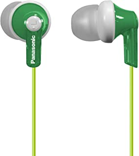 panasonic rphje120g headphone in-ear green