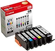 Canon 佳能 原装墨盒BCI-371BCI-371+370/6MP 6色セット・標準容量(BCI-371+370/6MP) 通常