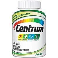 Centrum 善存 成人(300粒)完整的多种维生素/多种矿物质补充剂,维生素D3,维生素B,铁,抗氧化剂