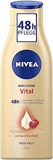 NIVEA 妮维雅 Vital 紧致强力护理大豆石榴体乳,适用于成熟肤质,1瓶装(1 x 250ml)