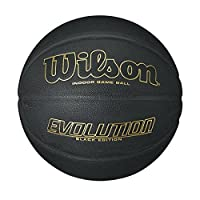"Wilson Evolution Black Edition Basketball, Official Size (29.5"")"