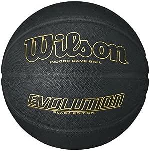 "Wilson Evolution Black Edition Basketball, Official Size (29.5"")"