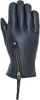 NANKAI 基础款 皮革 冬季 手套 牛皮 支持智能手机 新雪丽 保暖 Size LL 颜色:黑色 SDG-333