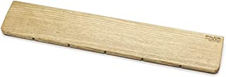 FILCO Genuine 木制护腕 L尺寸〔宽440mm〕使用北海道产天然木材 奥斯摩色加工 日本制造 棕色 FGWR/L