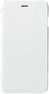 Zenus Prestige Minimal Diary 高品质真皮翻盖手机保护套,带卡位,适用于 Apple iPhone 6 Plus / 6S Plus 白色
