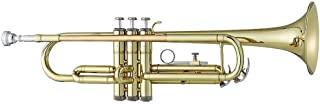 Antigua Vosi Trumpet.46 英寸(约 1.168.4 厘米)孔径,黄色黄铜铃铛,红色黄铜铅管,不锈钢活塞,服装