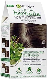 Garnier Color Herbalia 自然棕色,植物染色,植物染色,素食,3件装(3 x 1件)