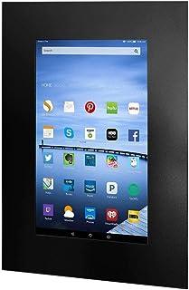 TabLines TWE061B 平板电脑壁挂式安装,适用于 Amazon fire HD,25.4 厘米(10 英寸)窄边打印,黑色
