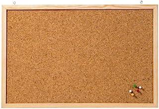 软木黑板 *墙板表面纹理:软木。框架材质:木质。边框颜色:自然色。墙面固定配件:壁挂式安装。颜色:棕色。 Einzelverpackt 40 x 60 cm 棕色