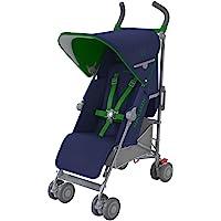 英国 Maclaren 玛格罗兰 Quest 蓝/绿色 婴童伞车 婴儿推车 2016新款(英国品牌 香港直邮)