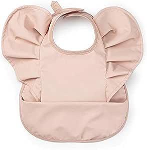 Elodie 吃饭围兜 保育园 时尚 防水 北欧 婴儿围兜 围兜 Baby Bibs Powder Pink