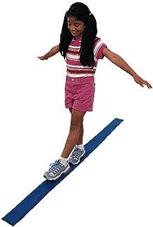 FlagHouse Kidnastics 个人平衡梁,6 英尺 x 4 英寸 x 0.5 英寸,蓝色