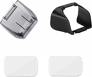 相机镜头防护万向节盖镜头罩遮阳保护帽防眩光镜头屏幕保护膜适用于 DJI Mavic Mini 2 / Mavic Mini