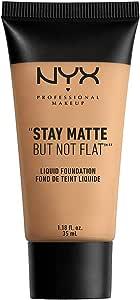 NYX 专业化妆 Stay Matte but not Flat 粉底液 1.18 Fluid Ounce