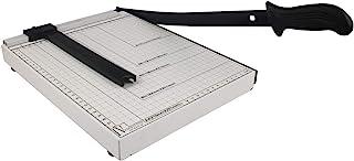 纸切割机,纸剪,带*装置,用于 A4 A5 纸张、照片或标签标准切割 - 白色