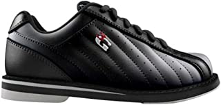 3G 男式 Kicks 中性款保龄球鞋-黑色 14 美国