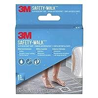 3M Safety-Walk 浴缸和淋浴花纹,透明,1 英寸 x 180 英寸卷,7640NA