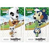 "amiibo 受案2件套[K.K. 任天堂Switch -Switch Lite -WiiU- 3DS的""滑块/ Mab…"