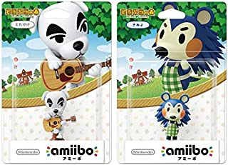 amiibo 2 件装套装 [K.K. Sliders /Mabel](动物交叉系列)适用于 Nintendo Switch - Switch Lite - WiiU- 3DS