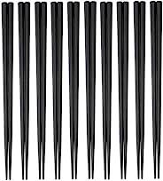大黑工业 SPS制 休闲筷 22.5cm 八角 (黑) 10双装 3771182