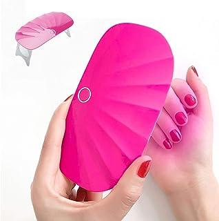 迷你 UV LED *灯,MUSE 玩具口袋尺寸,*灯凝胶灯,USB 插头,6 个灯珠,快干旅行外壳*干燥器玫瑰