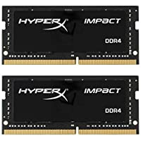 Kingston Technology HyperX Impact 对开式 黑色HX429S17IBK2/64 2933Mhz 64GB Kit (2x32GB)