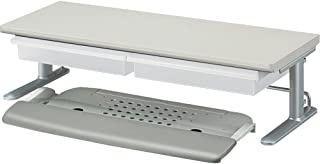 KOKUYO 国誉 键盘滑块 W600 架子1层 带托盘 灰色 EAS-DSC6079M