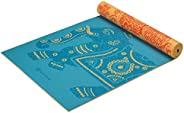 Gaiam 双面印花瑜伽垫 (5mm)