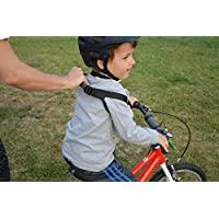 First Ride 兒童*帶。 Learn To Ride a Pedal Bike or Balance Bike, no Training Wheels